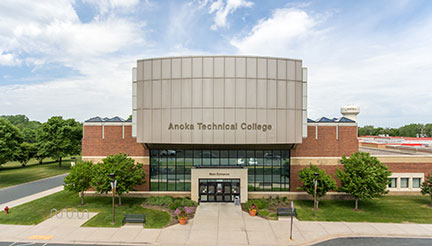 Anoka Tech Campus entrance