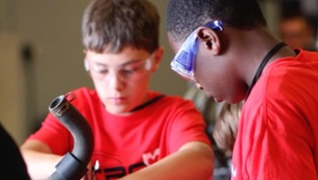 Anoka Technical College hosts Nitro X summer camp, June 11 – 15 where children entering Grades 7 and 8 will have fun making new friends while working in teams, and discover new technical skills along the way.
