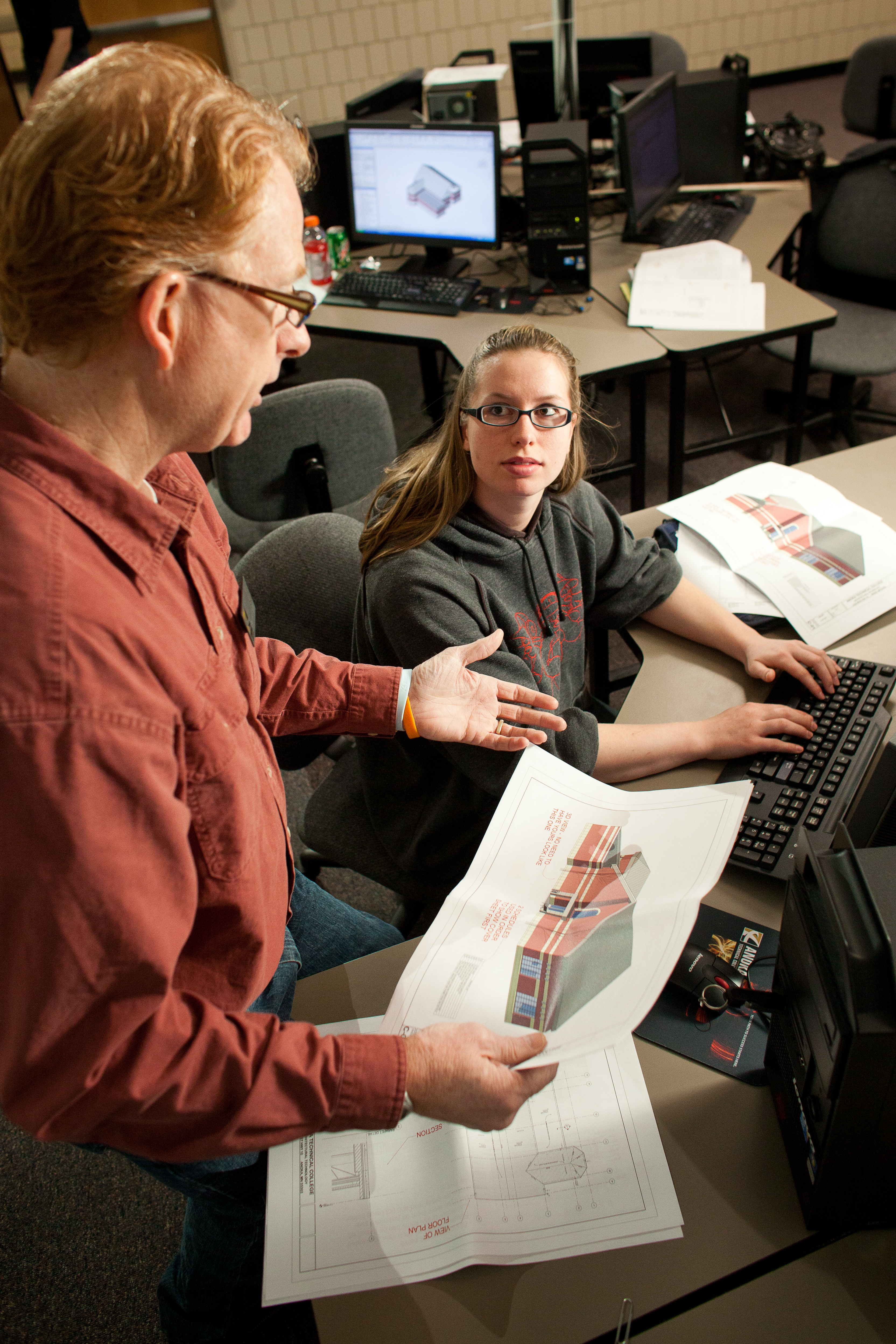 college offers architectural and construction estimating night courses construction rebounding from the economic recession anoka technical college is adding evening programming for its architectural technology degree