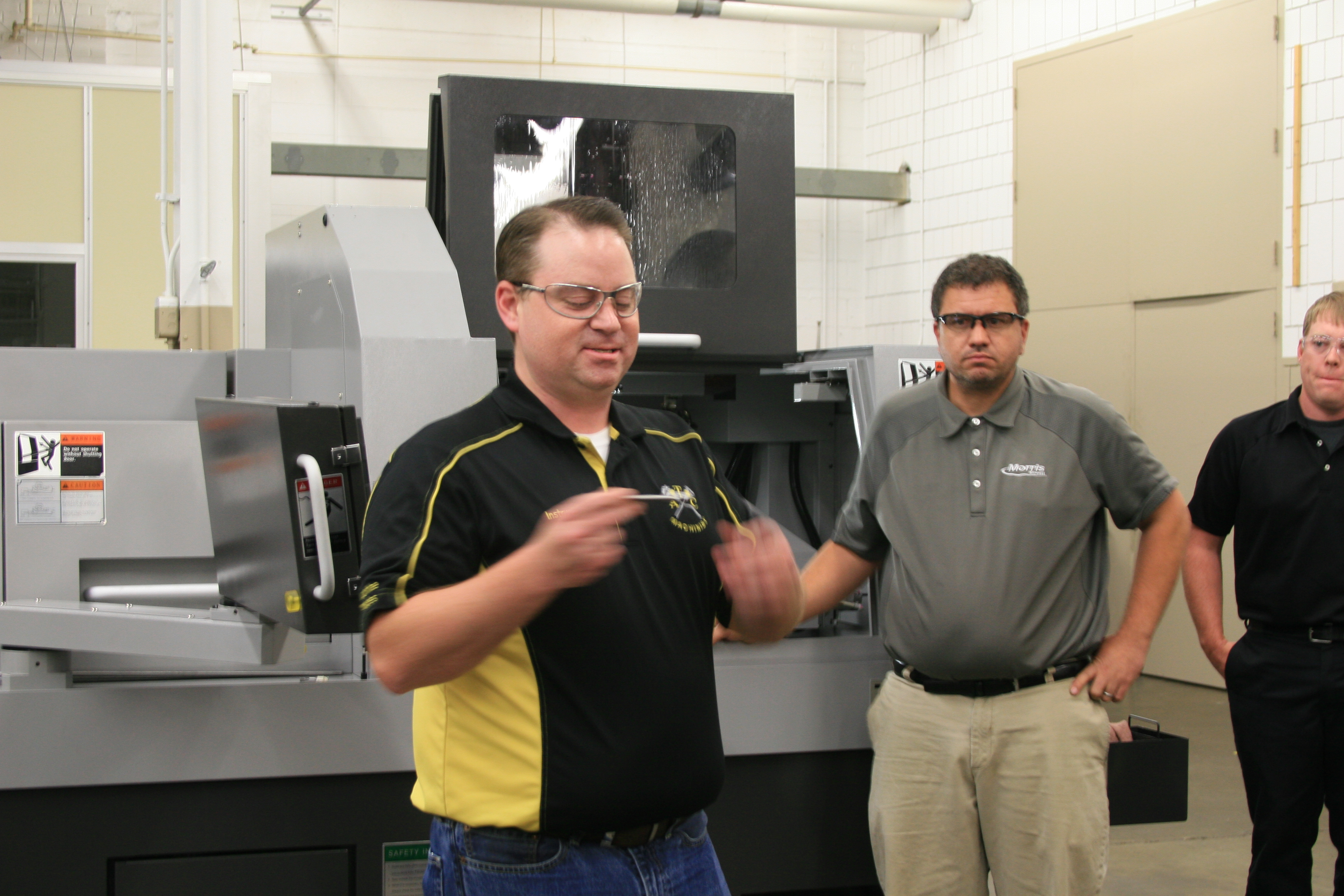 Anoka Technical College thanks donors for multi-axis Swiss
